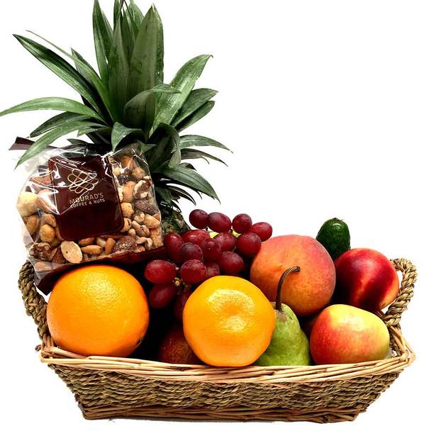 Fruit Hamper + Gourmet Mixed Nuts