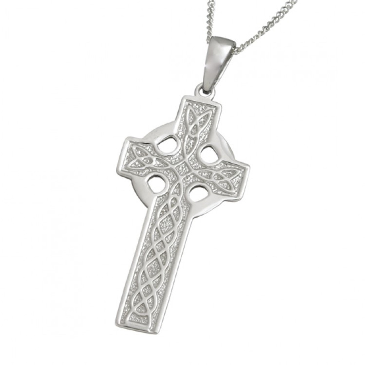 pendant products moon new celtic cross