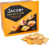Jacobs Biscuits For Cheese Tub 900g