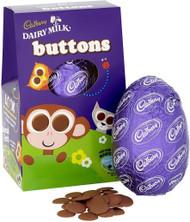 Buttons Medium Egg 128g