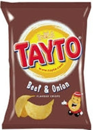 Tayto Beef & Onion 8 Pack