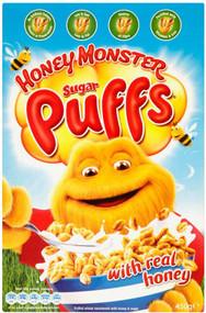 Honey Monster Puff's Cereal 320g