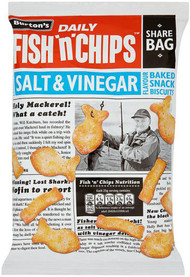 Burtons Fish and Chips - Salt & Vinegar 40g