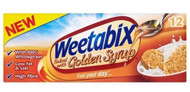 Weetabix Golden Syrup 12 Pack