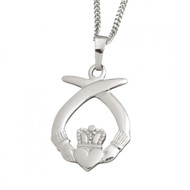 Claddagh Celtic Pendant And Chain