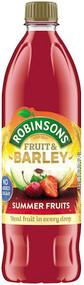 Robinsons NAS Fruit & Barley - Summer Fruits 1 Ltr