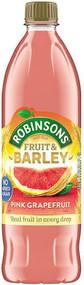 Robinsons NAS Fruit & Barley - Pink Grapefruit 1 Ltr