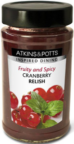 Atkin & Potts Spicy Cranberry Relish 240g