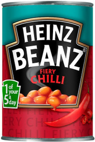 Heinz Beans Fiery Chilli 390g