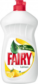 Fairy Washing Up Liquid Lemon 450ml