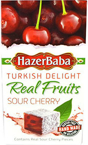 Hazer Baba Turkish Delight - Sour Cherry 100g