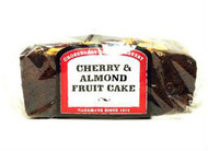 Cross Roads Bakery Cherry & Almond Topped Rich Fruit Cake 400g