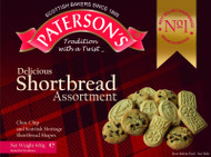 Pattersons Chocolate Chip Cookies & Shortbread 400g
