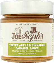 Joe & Sephs Toffee, Apple & Cinnamon Pudding Sauce 230g (Best Before March 2018)