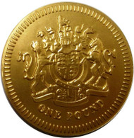 Alberts Giant Milk Chocolate £1 Coin 21g