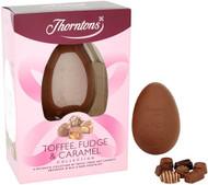 Thornton Toffee, Fudge & Caramel Egg 208g