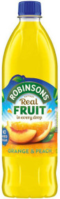 Robinsons Fruit Squash Orange & Peach 1 Ltr