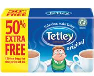 Tetley Tea 120 Pack