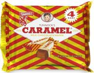 Tunnocks Chocolate Caramel Wafers - 4 Pack