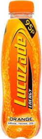 Lucozade Energy Orange 380 ml - Pack of 4