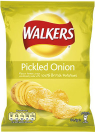Walkers Pickled Onion Case of 48
