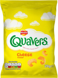 Quavers 21g - Case of 32