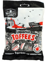 Walkers Nonsuch Liquorice Toffee 150g (Best by June 12 2018)
