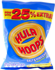 Hula Hoops - Salt & Vinegar 34g