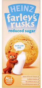 Farleys Rusks Reduced Sugar 9 Pack