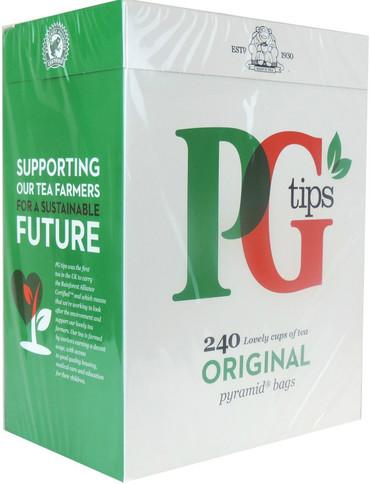 PG Tips Tea Bags 240 Pack
