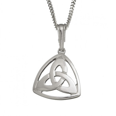 Trinity Knot Pendant With Chain