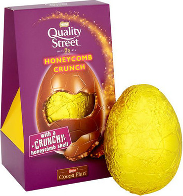 Quality Street Honeycomb Crunch Inclusion Egg 162g