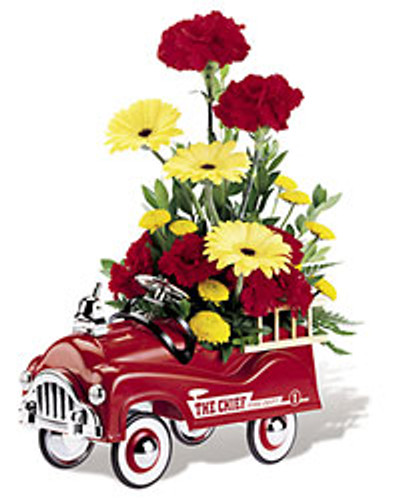 Fire Engine Bouquet