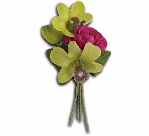 Orchid Celebration Boutonniere