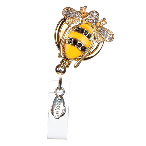 Queen Bee Badge Reel