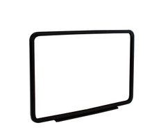 Magnetic steel sign holder for grocery and retail applications. Easily display sings on metal store fixtures and much more.