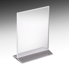 "Acrylic Sign Holder 8.5""w x 11""h"