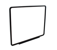 """Metal Sign Frame with Magnetic Base - Black  Finish - Fits 14""""x 11"""" Sign Insert"""