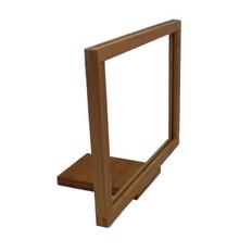 Bamboo Sign Frame - Shovel Base - Accommodates 11 x 8.5  Sign Insert