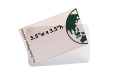 """Sign Protector Insert - Protects 5.5""""w x 3.5""""h Sign"""