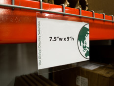 "Magnetic Sign Protector - Top Mount - 7.5""w x 5""h 20/Pack"