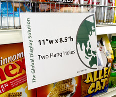 Hanging Sign Sleeve - 11 x 8.5