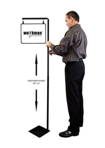 "Pallet Sign Holder Combo Kit - Black - Includes 11""w x 8.5""h Sign Frame 1/Pack"