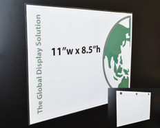 "(1) Up Sign Protector with Magnets - 11"" x 8.5"" - 20/Pack"