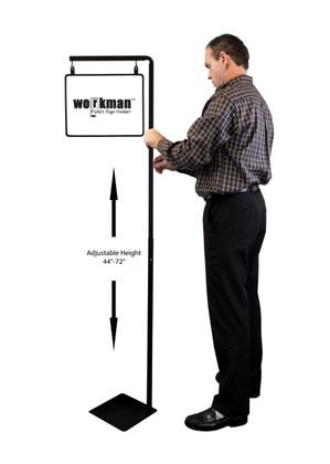 Pallet Sign Holder Combo Kit - Black - Includes 14\