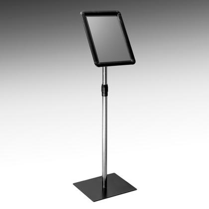 Deluxe pedestal sign holder -  adjustable height