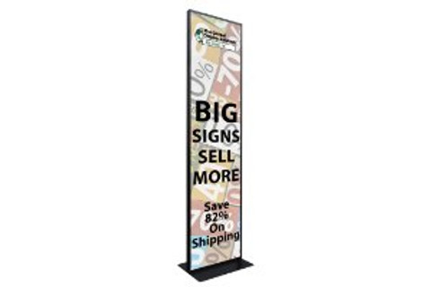 """Super Size Poster Stand  - 24"""" x 96"""""""