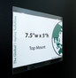 """Magnetic Sign Protector - Top Mount - 7.5""""w x 5""""h 20/Pack"""