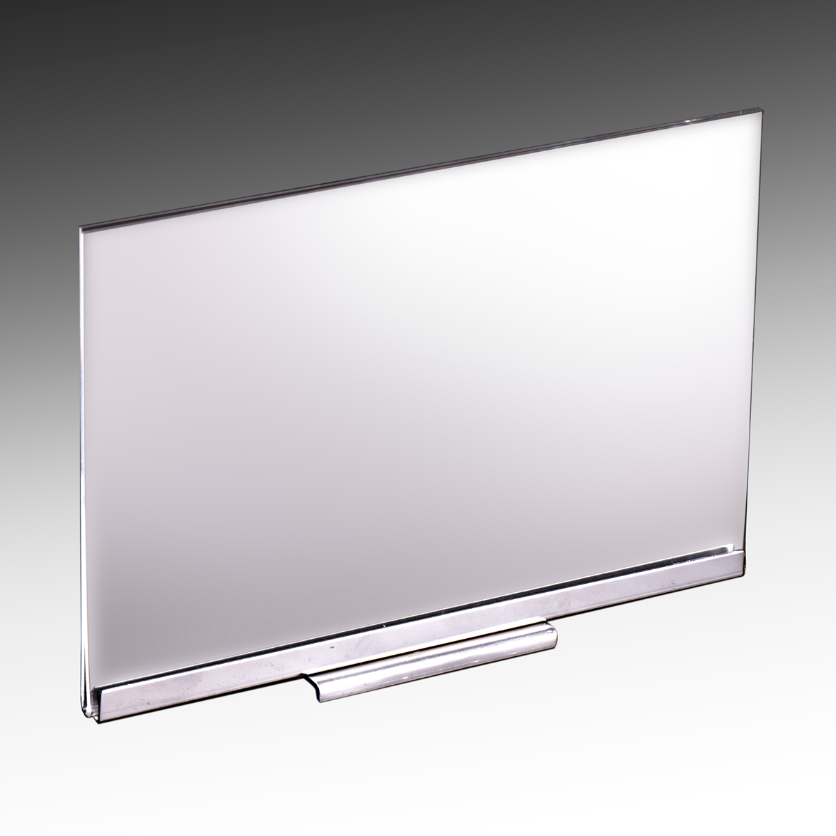 Acrylic Sign Holder With Magnetic Base 11 Quot W X 7 Quot H 6