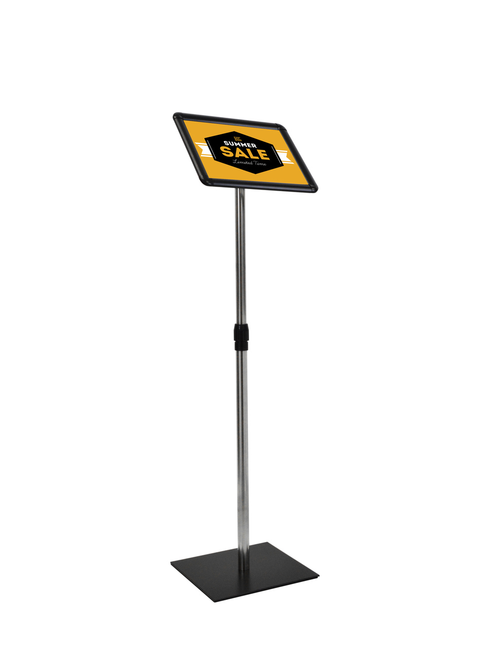 Deluxe Pedestal Sign Display - 8.5\